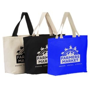 11.5 Oz. Hillsboro Canvas Tote Bag