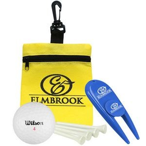 Golf-in-a-Bag Gift Set