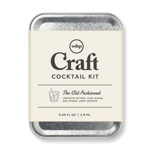 W&P Old Fashioned Carry On Cocktail Kit - Stainless Steel