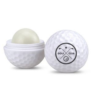 Golf Ball Shaped Lip Balm Container