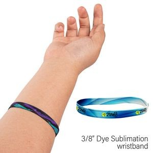 "3/8"" Wide Elastic Wrist Band"