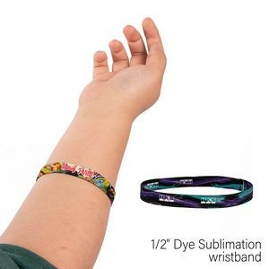 "1/2"" Wide Elastic Wrist Band"